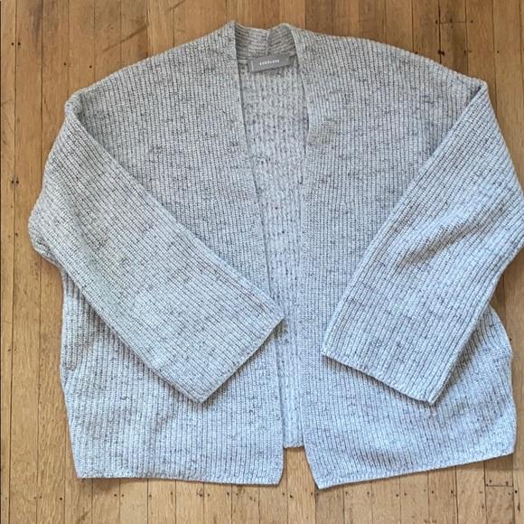 Everlane Sweaters Twisted Merino Cardigan Poshmark